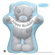 BALÃO METALIZADO ME TO YOU - TATTY TEDDY BANNER DE ANIVERSÁRIO 36 POLEGADAS - QUALATEX #16624