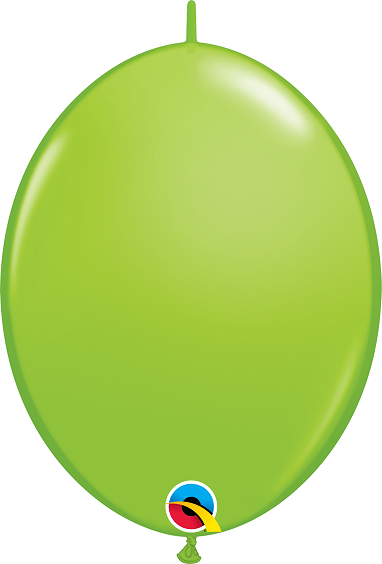 BALÃO 12 POLEGADAS Q-LINK  VERDE LIMA - PC 50 QUALATEX #65217