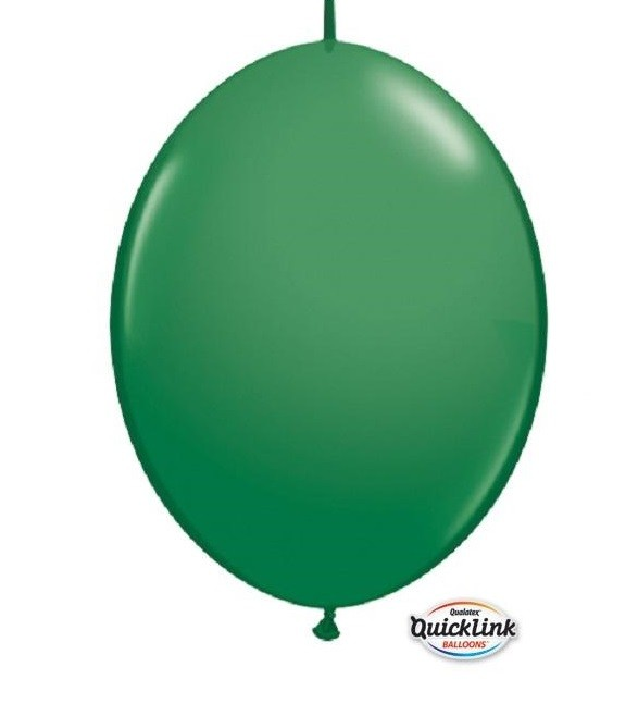 BALÃO 12 POLEGADAS Q-LINK  VERDE - PC 50 QUALATEX #65224