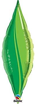 BALÃO 27 POLEGADAS TAPER TAPER GREEN LEAF QUALATEX #17137
