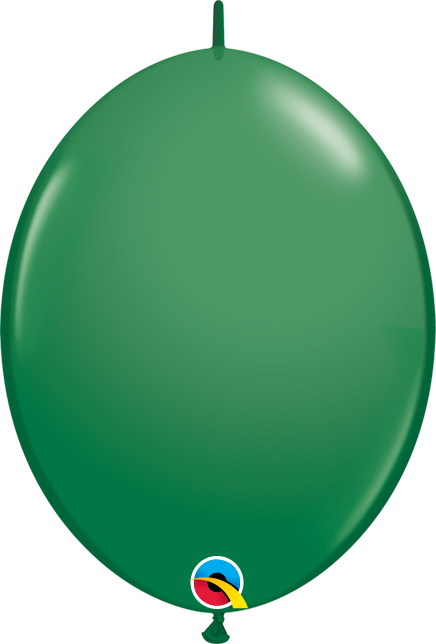 BALÃO 6 POLEGADAS Q-LINK VERDE PC 50 QUALATEX  #90198