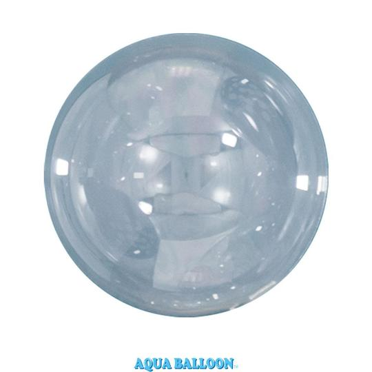 BALÃO AQUA BALLOONS - CLEAR - 70MM - UNITÁRIO - QUALATEX #12034U