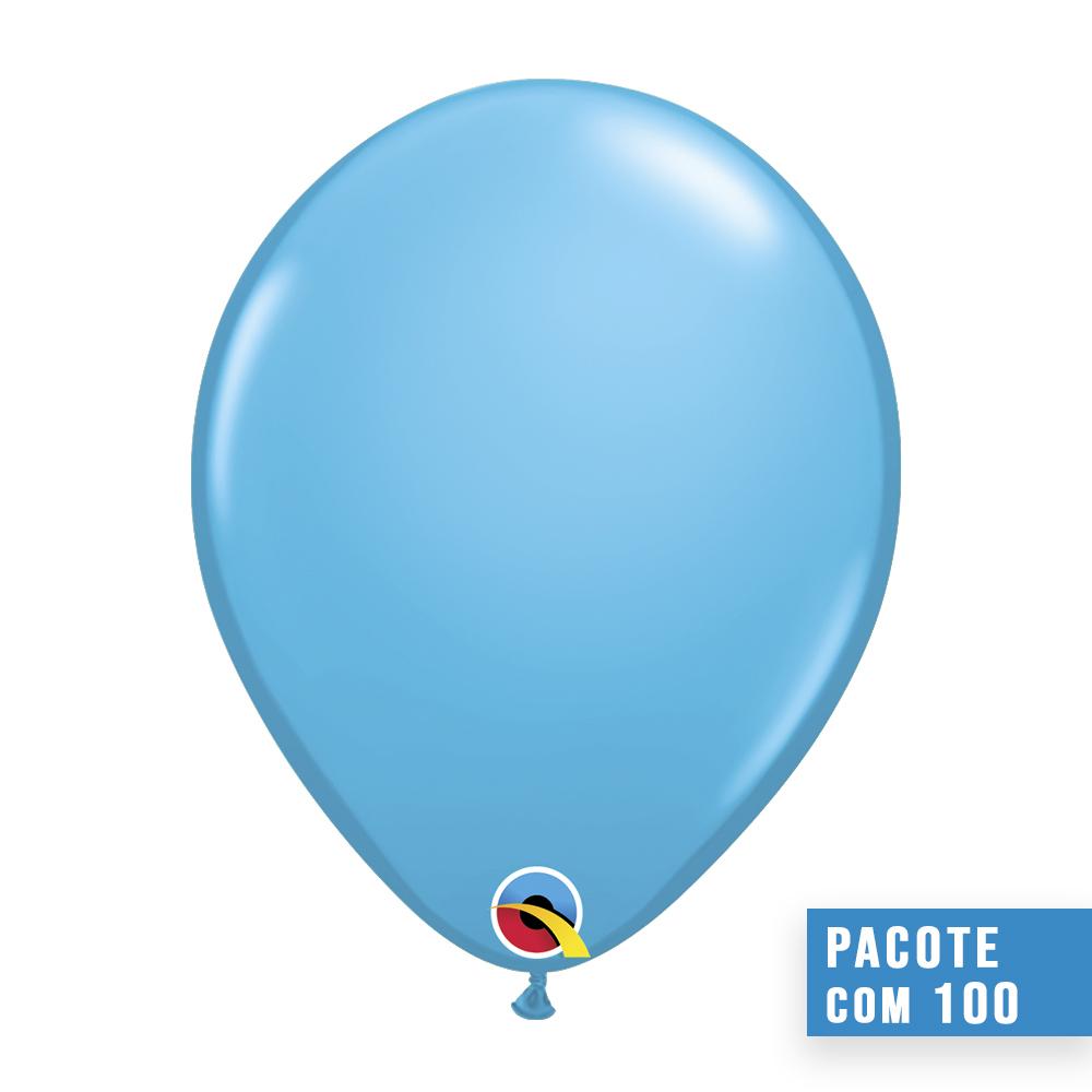 BALÃO AZUL CASCA DE OVO 5 POLEGADAS PC 100UN QUALATEX #82683