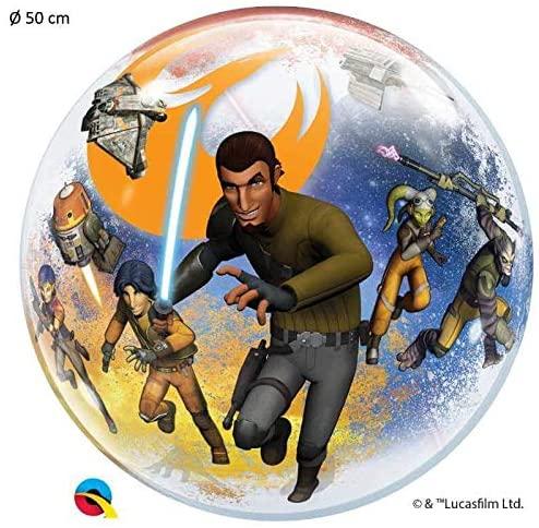 BALÃO BUBBLE STAR WARS REBELS - 22 POLEGADAS QUALATEX #10589