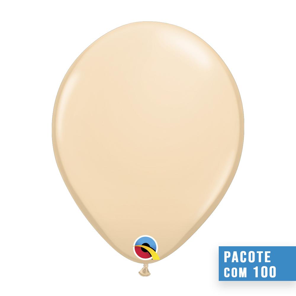 BALÃO DE LÁTEX COR DA PELE 5 POLEGADAS - PC 100UN - QUALATEX #99319