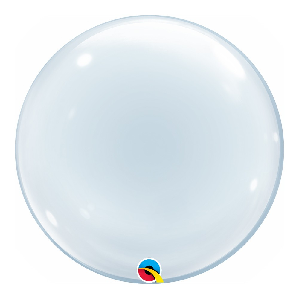BALÃO DECO BUBBLE LISO - 20 POLEGADAS  - QUALATEX #68824