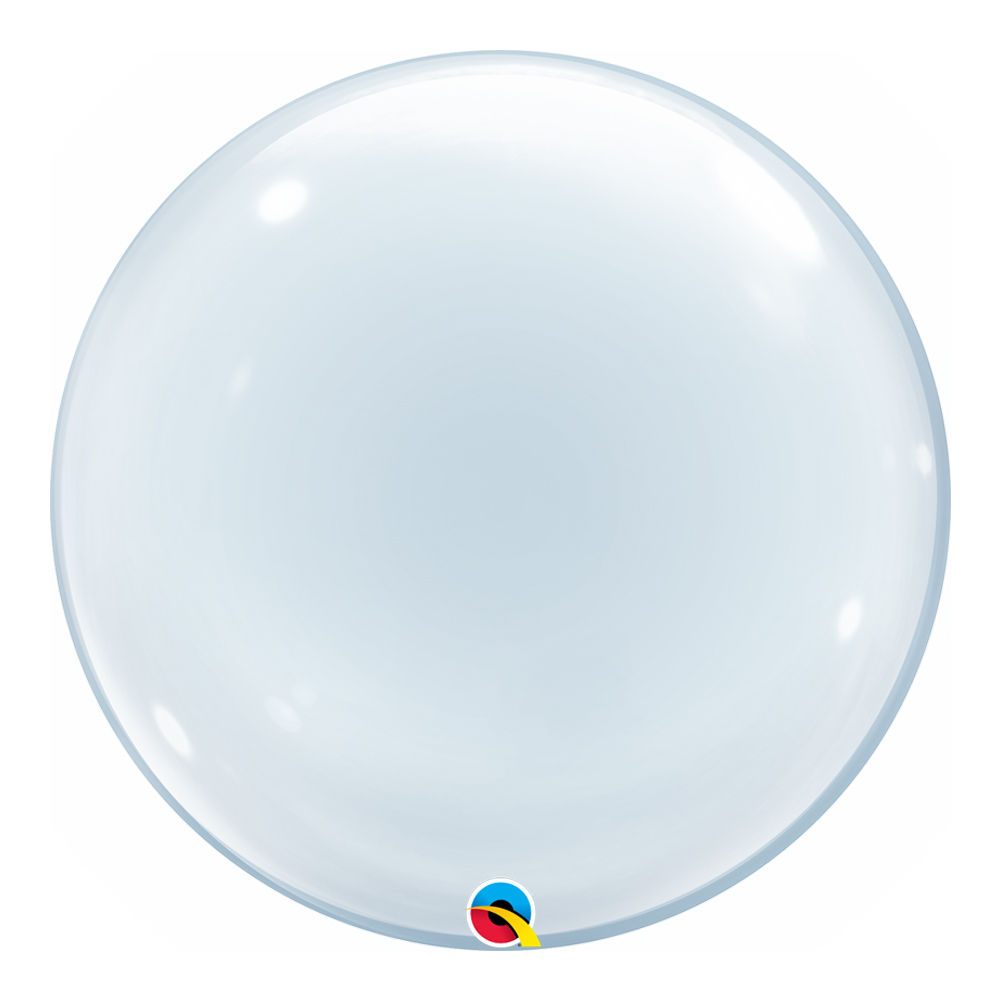 BALÃO DECO BUBBLE LISO - 24 POLEGADAS  - QUALATEX #68825