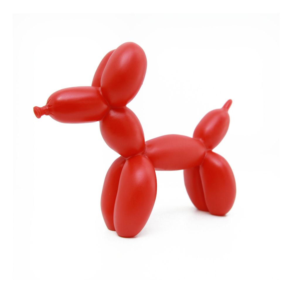 BALLOON DOG DESIGN - VERMELHO