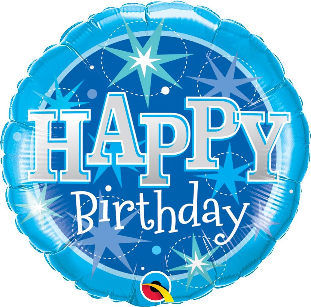 BUQUÊ HAPPY BIRTHDAY AZUL