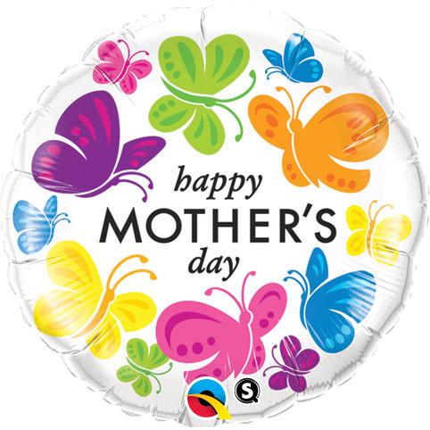 BUQUE HAPPY MOTHER DAY BUBBLE COM BORBOLETAS