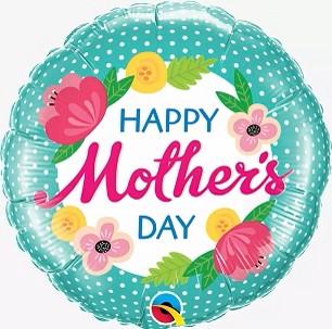 BUQUE HAPPY MOTHER DAY COM CORAÇÕES E FLORES
