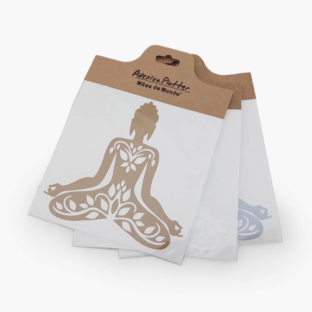 Adesivo Buda Yoga - Foto 1
