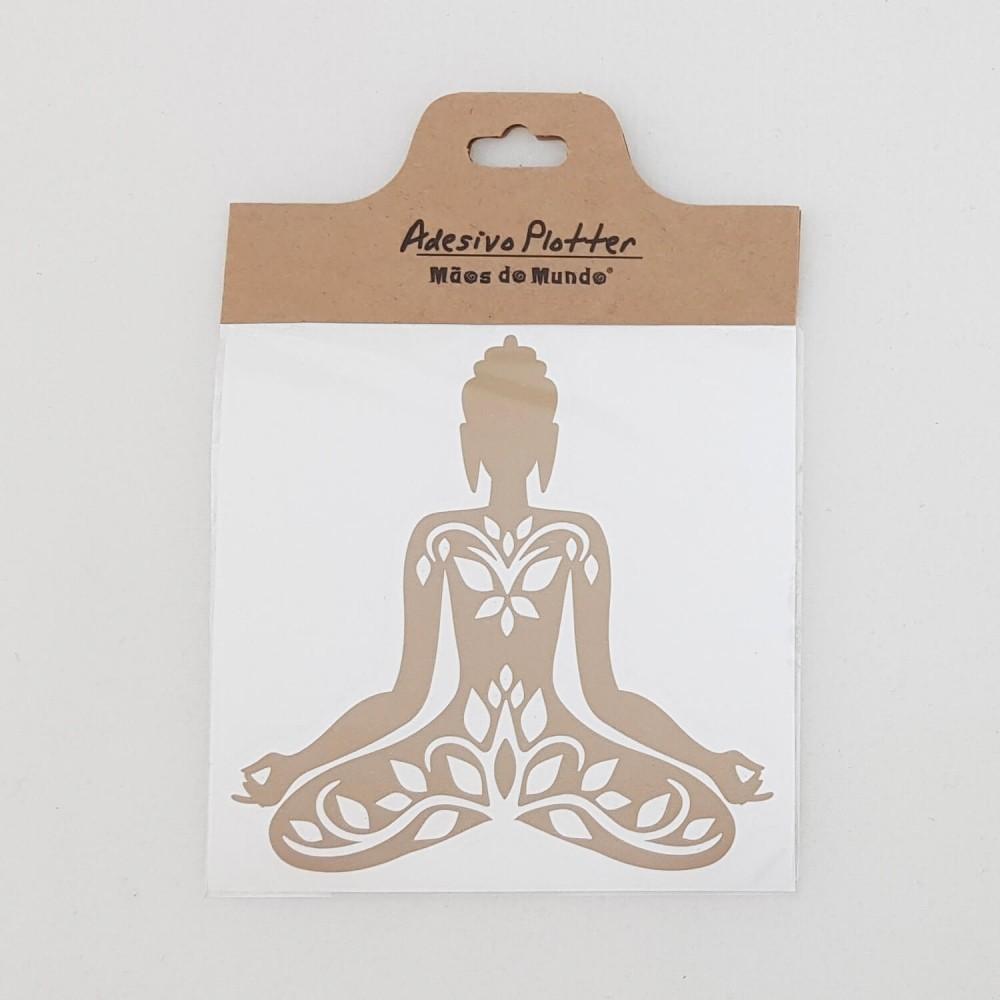Adesivo Buda Yoga - Foto 2