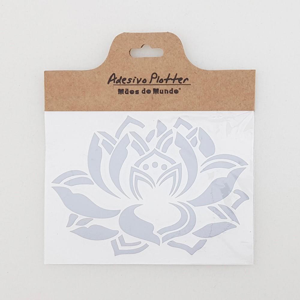 Adesivo Flor de Lótus  - Foto 2