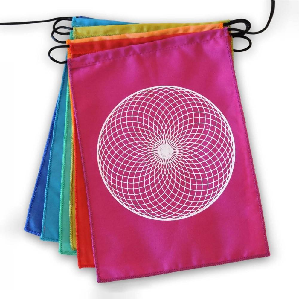 Bandeiras de Oração - Mandalas - Foto 3