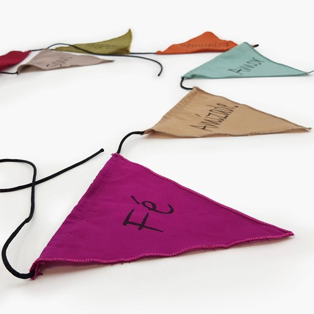 Bandeiras de Oração - Palavras - Foto 1
