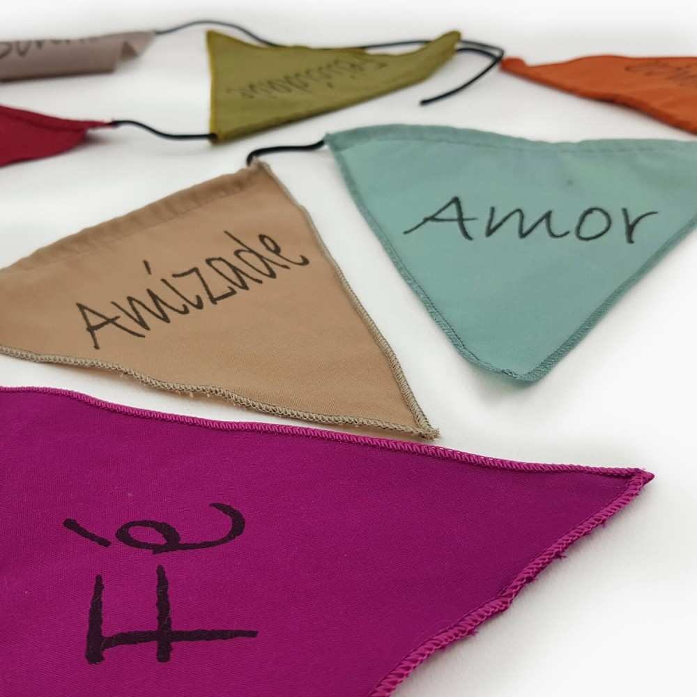 Bandeiras de Oração - Palavras - Foto 3