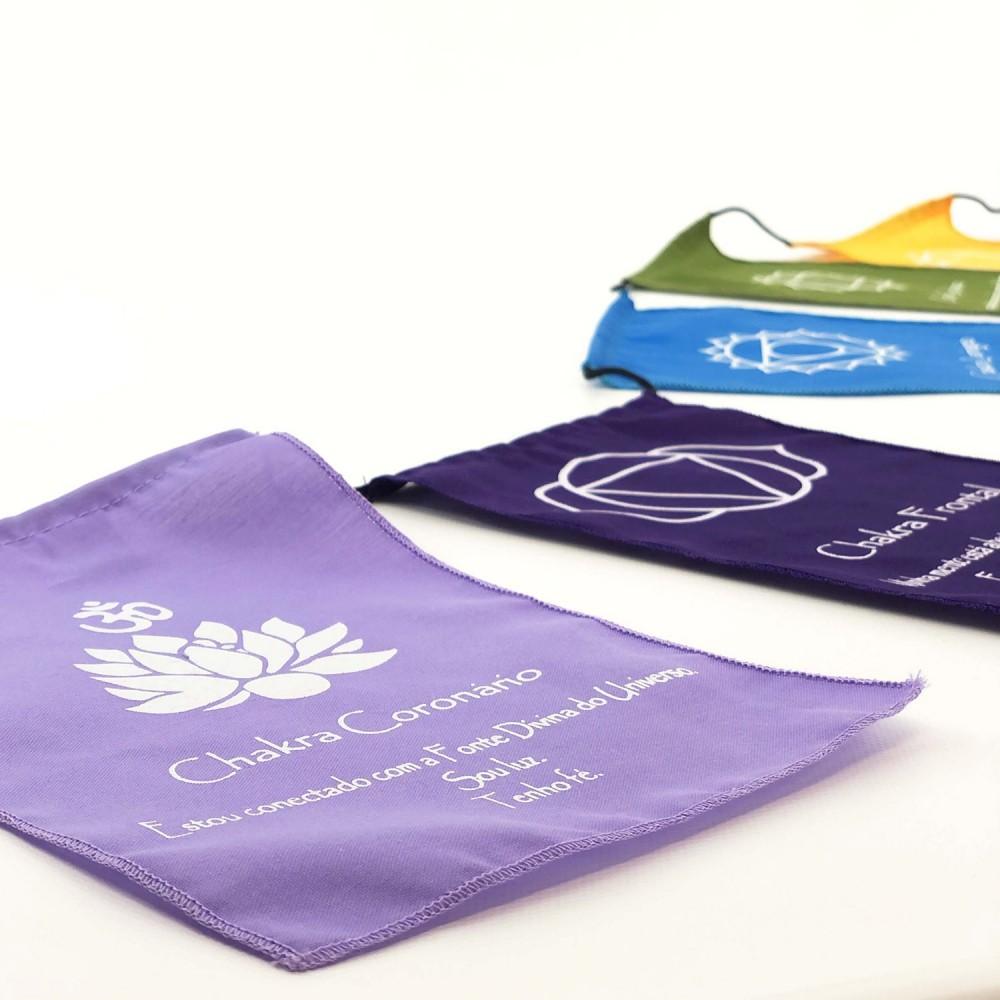 Bandeiras de Oração - Chakras - Foto 3