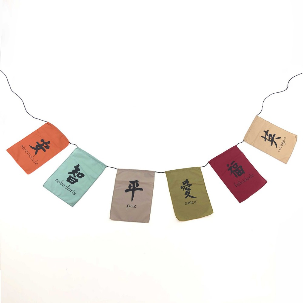 Bandeiras de Oração - Símbolos  - Foto 2
