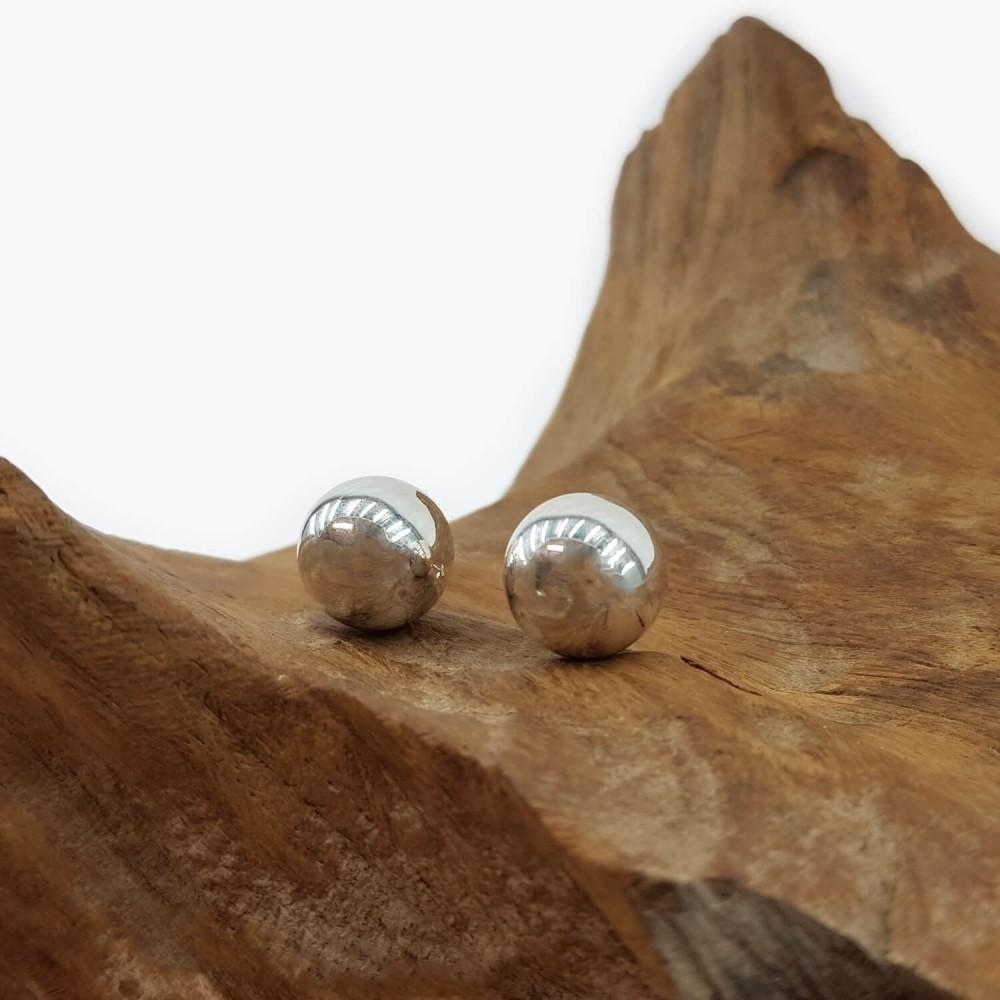 Brinco Esfera 12mm - Foto 1
