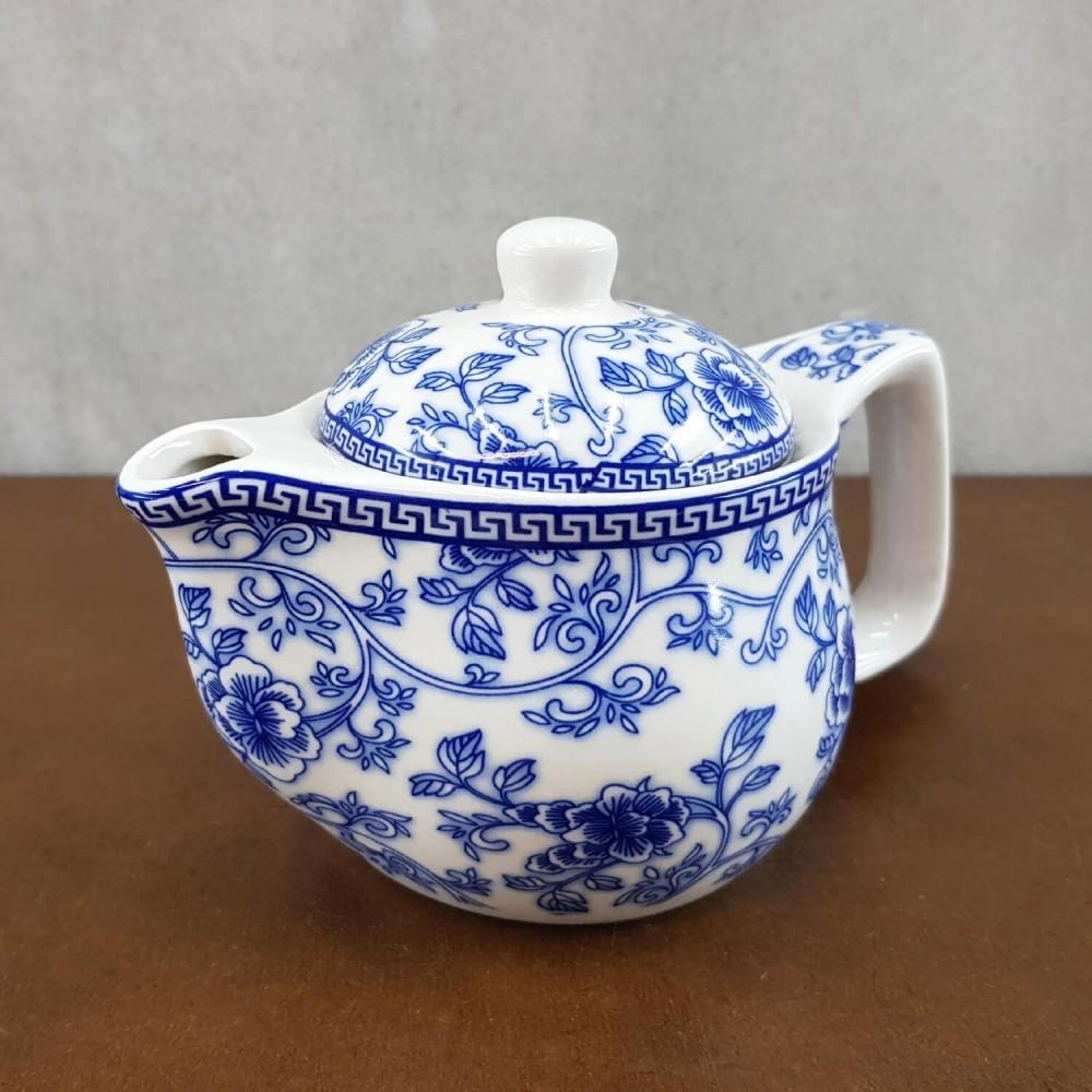 Bule de Chá - azul celeste - Foto 1