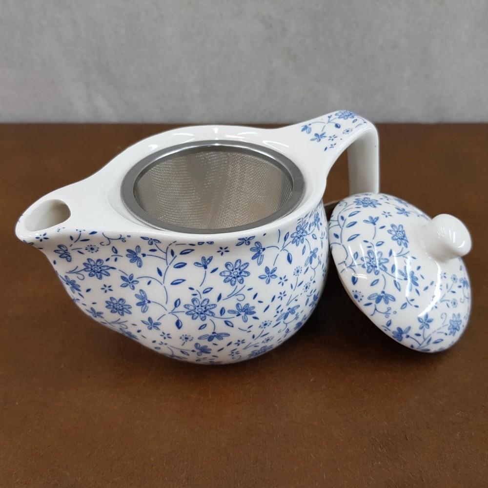Bule de Chá - azul claro - Foto 2