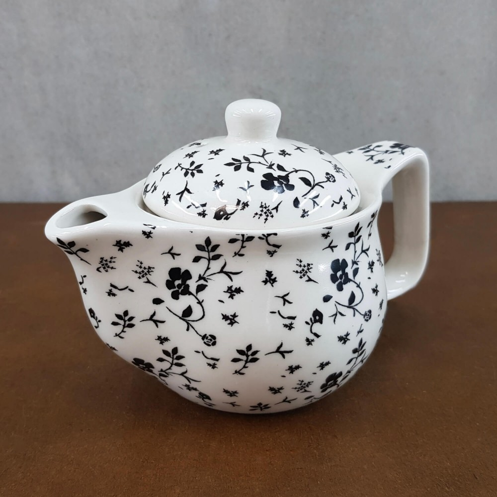 Bule de Chá - preto  - Foto 1