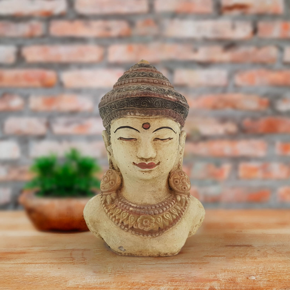 Cabeça Buda 20cm - Color - Foto 1