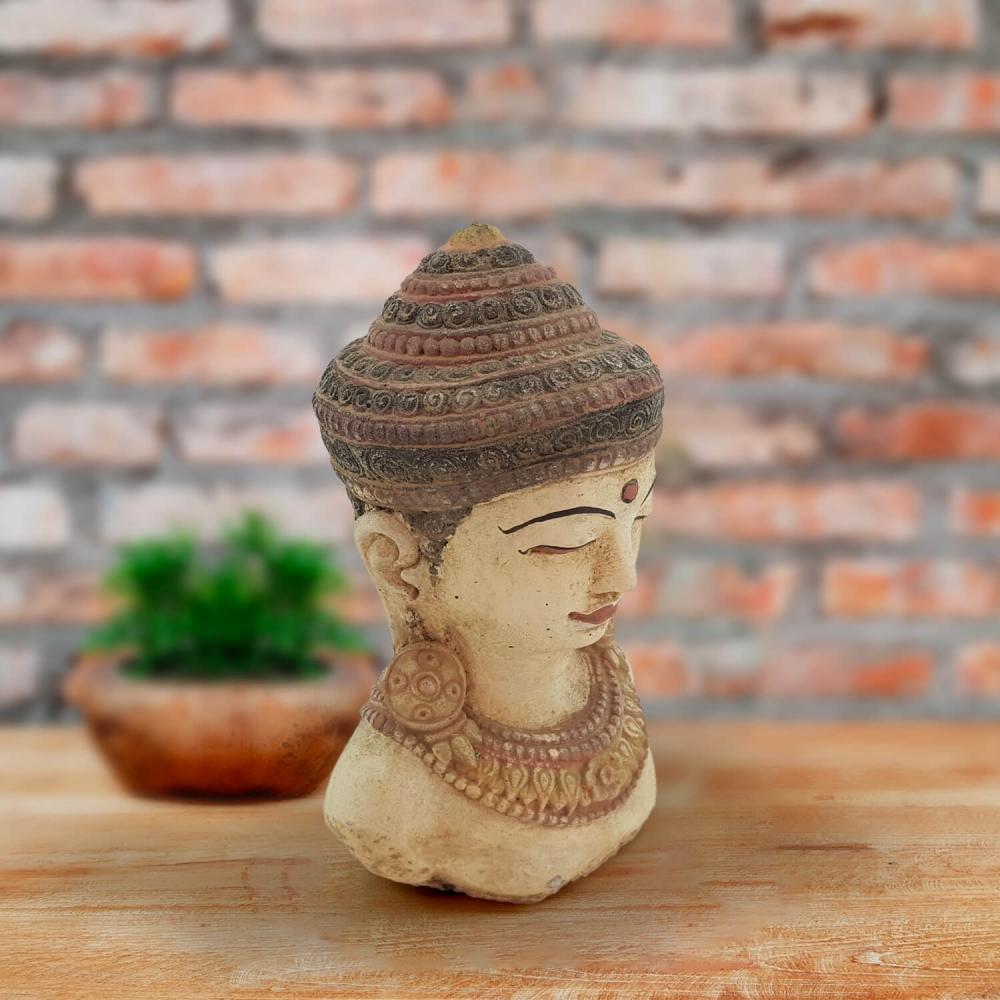 Cabeça Buda 20cm - Color - Foto 2