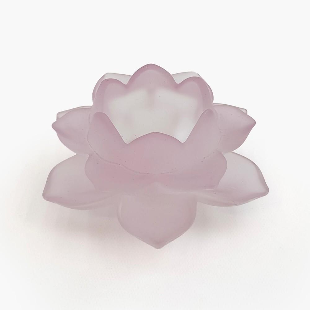 Castiçal Flor de Lótus 12x5cm - Foto 6