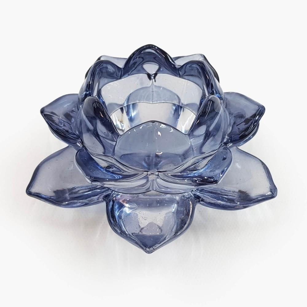 Castiçal Flor de Lótus 13x5,5cm - Foto 5