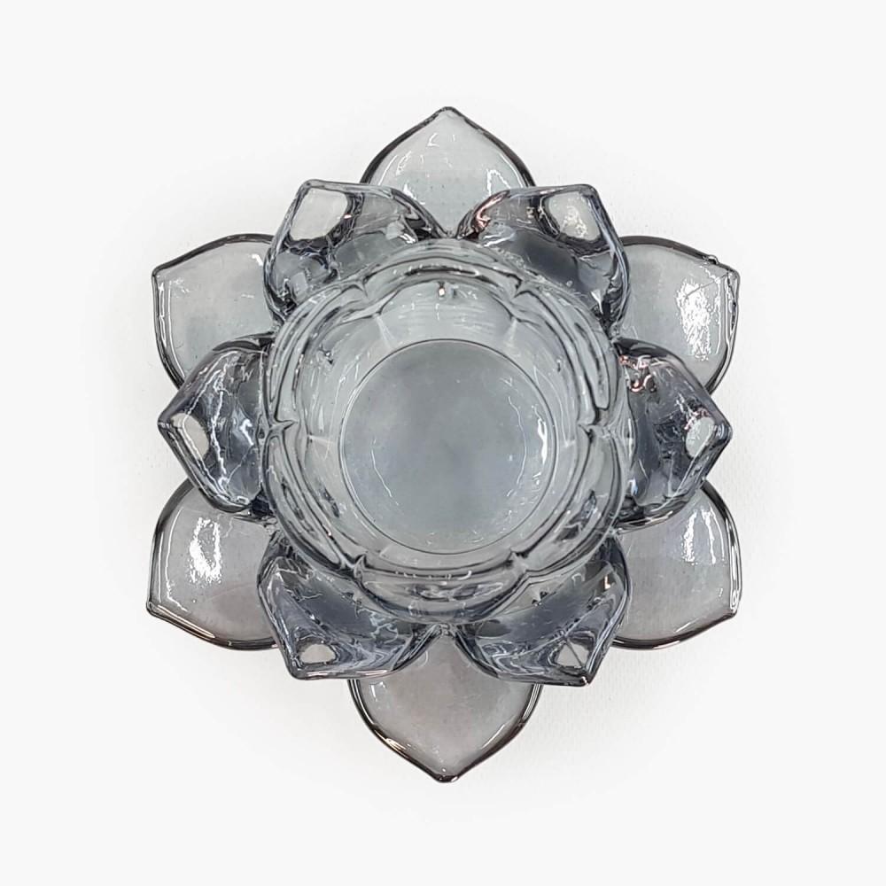 Castiçal Flor de Lótus 13x5,5cm - Foto 7