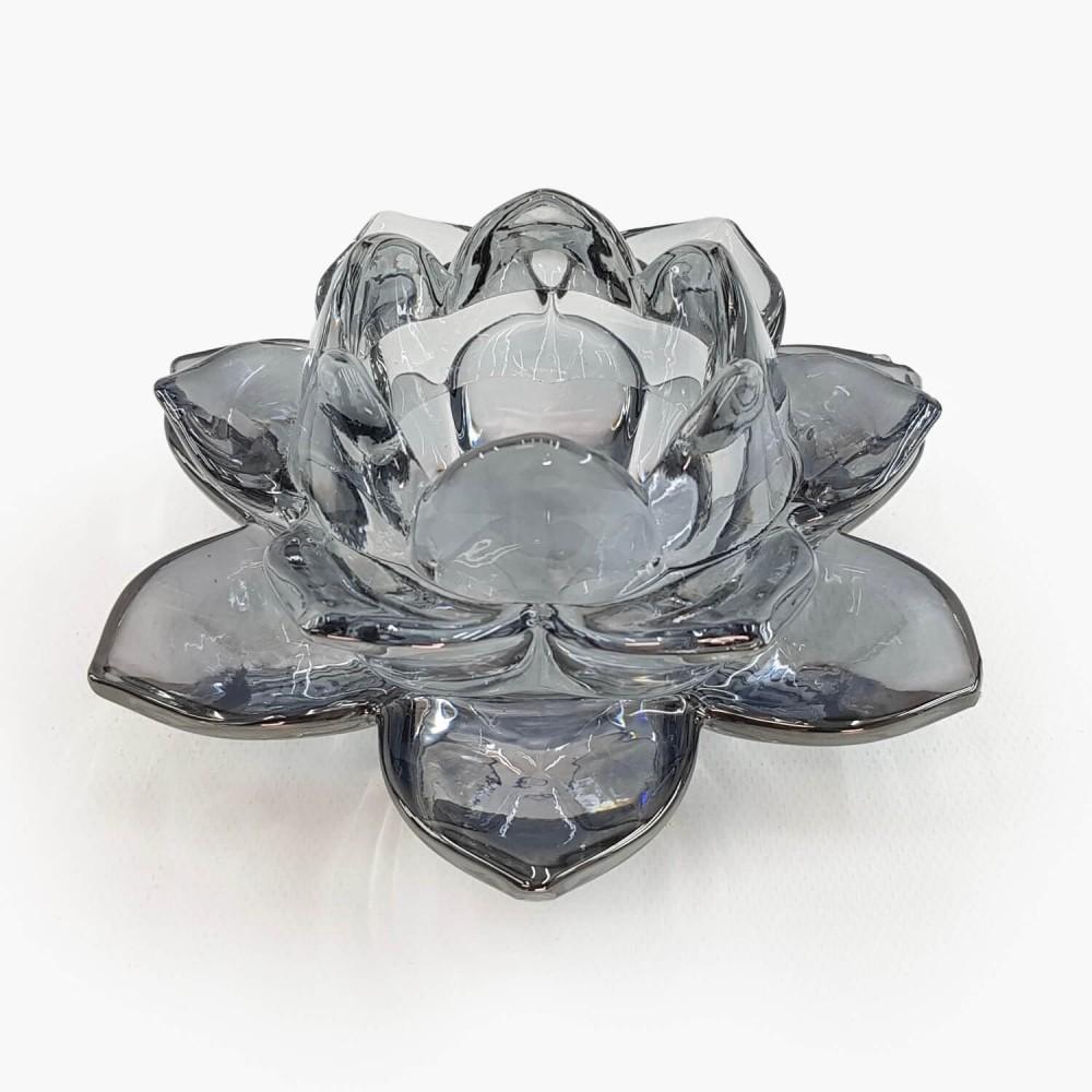 Castiçal Flor de Lótus 13x5,5cm - Foto 8