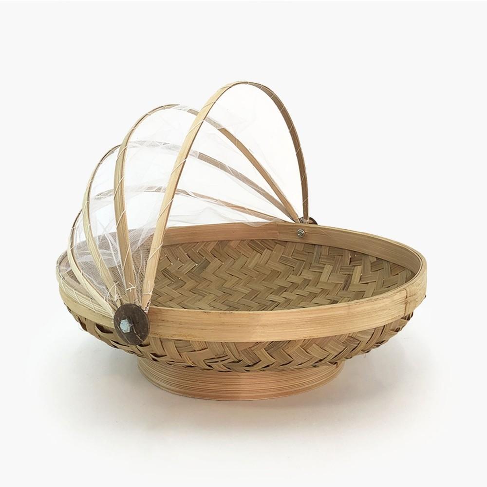Cesto Bambu (fundo oval) - Foto 1