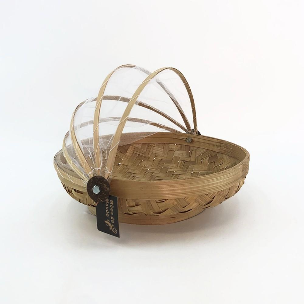 Cesto Bambu (fundo oval) - Foto 4