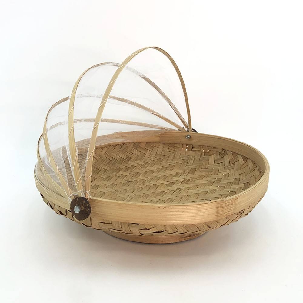 Cesto Bambu (fundo oval) - Foto 6