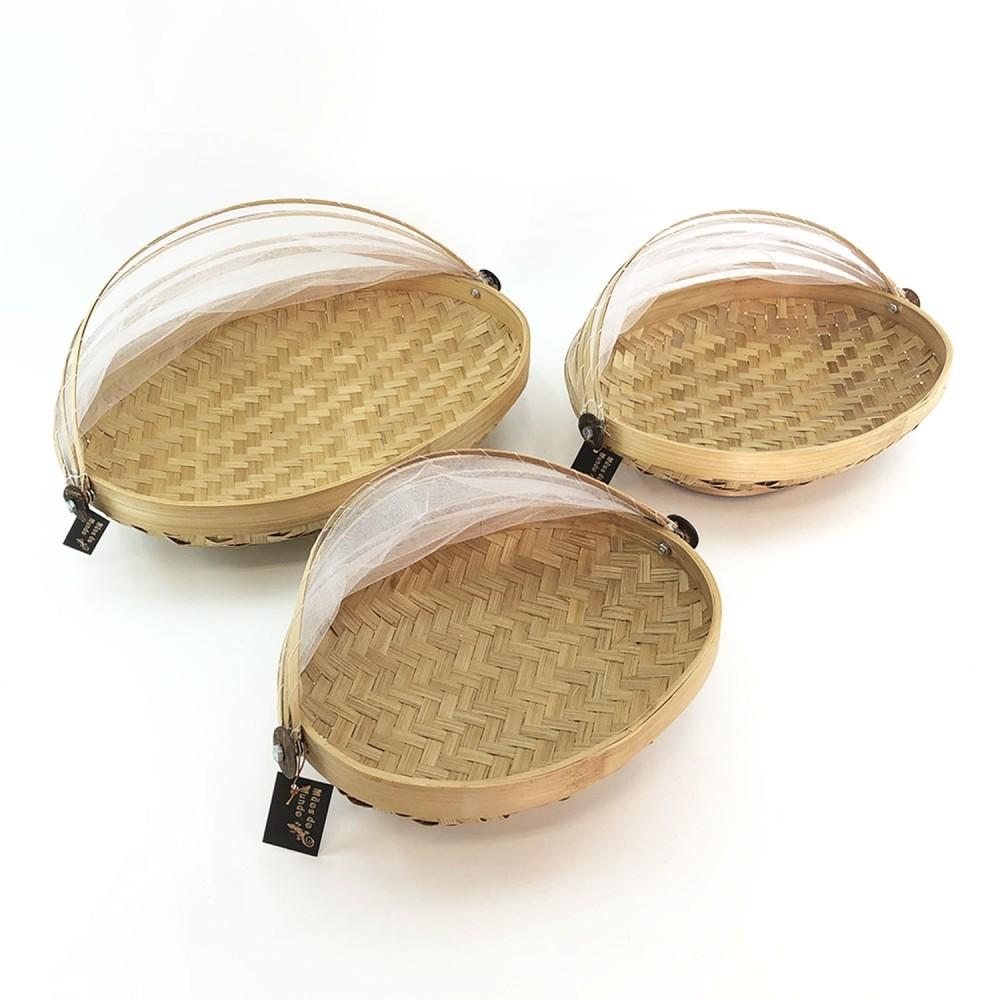 Cesto Bambu (oval) - Foto 2