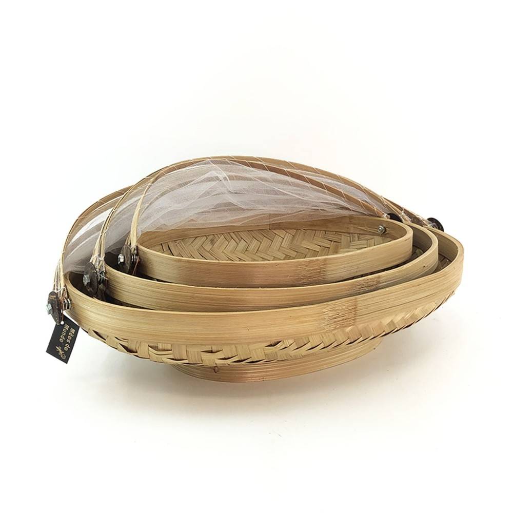 Cesto Bambu (oval) - Foto 4