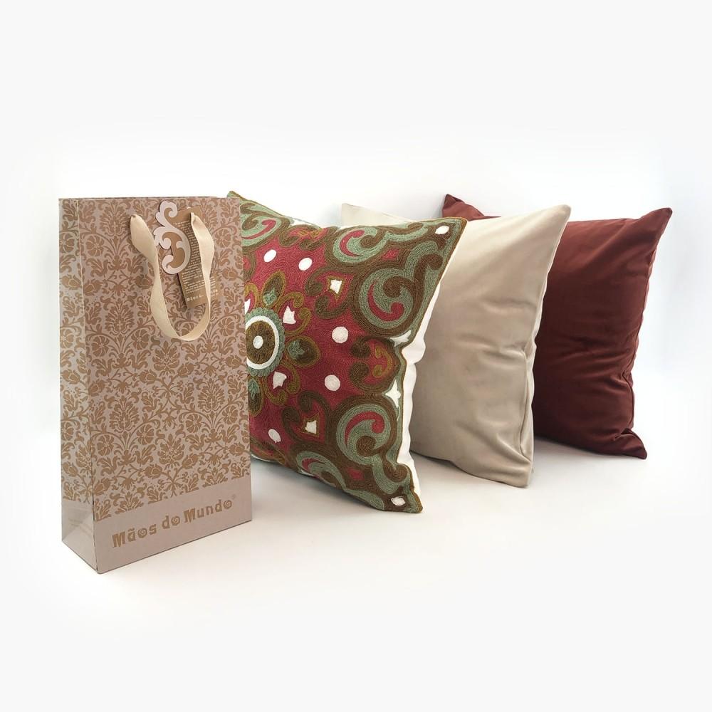 Conjunto 3 capas de almofadas - Foto 1