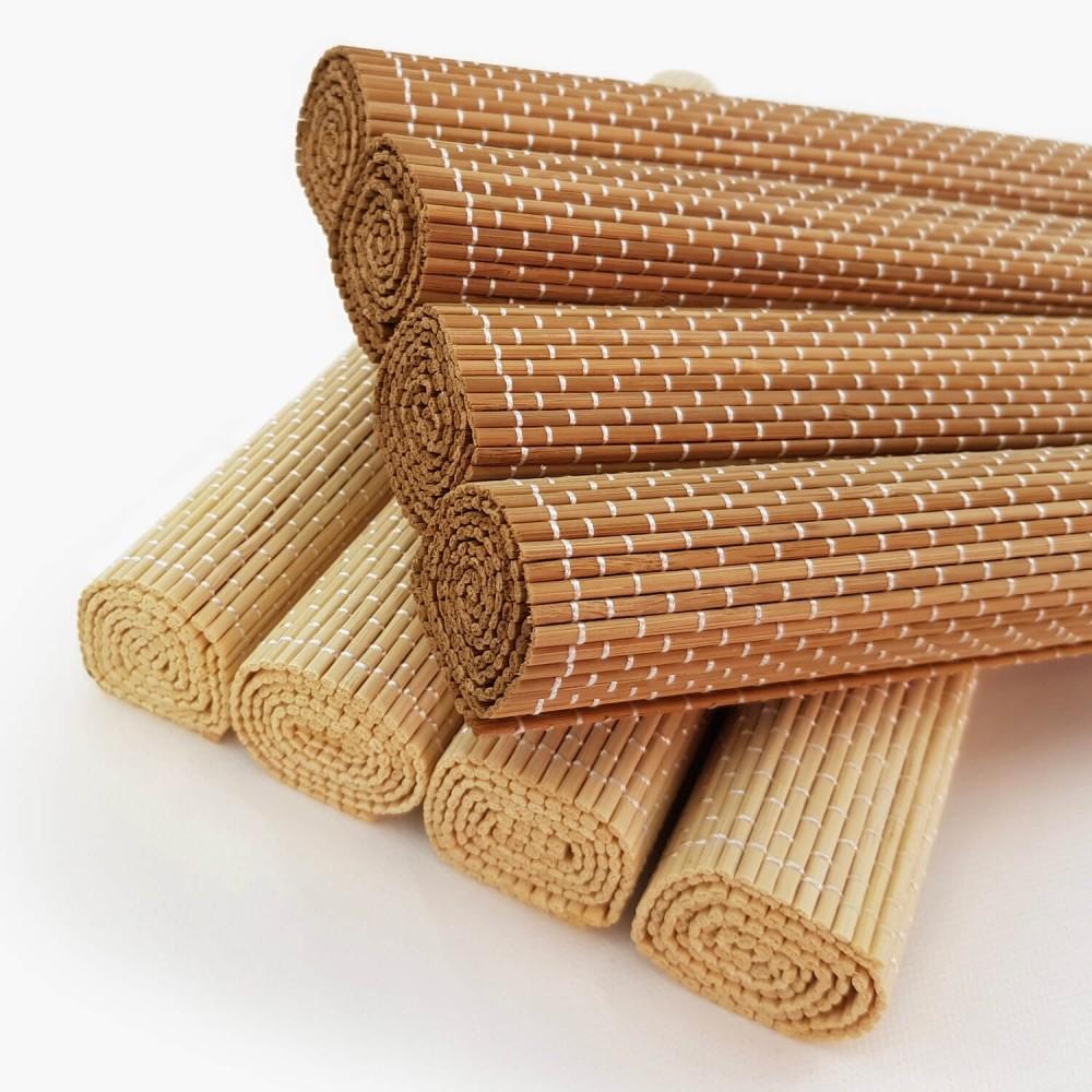 Conjunto 4 Jogos Americanos Bambu  - Foto 1