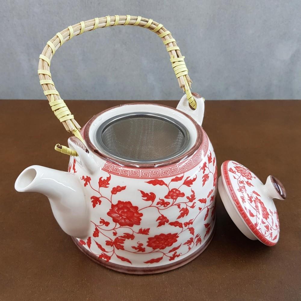 Conjunto de Chá - vermelho  - Foto 2
