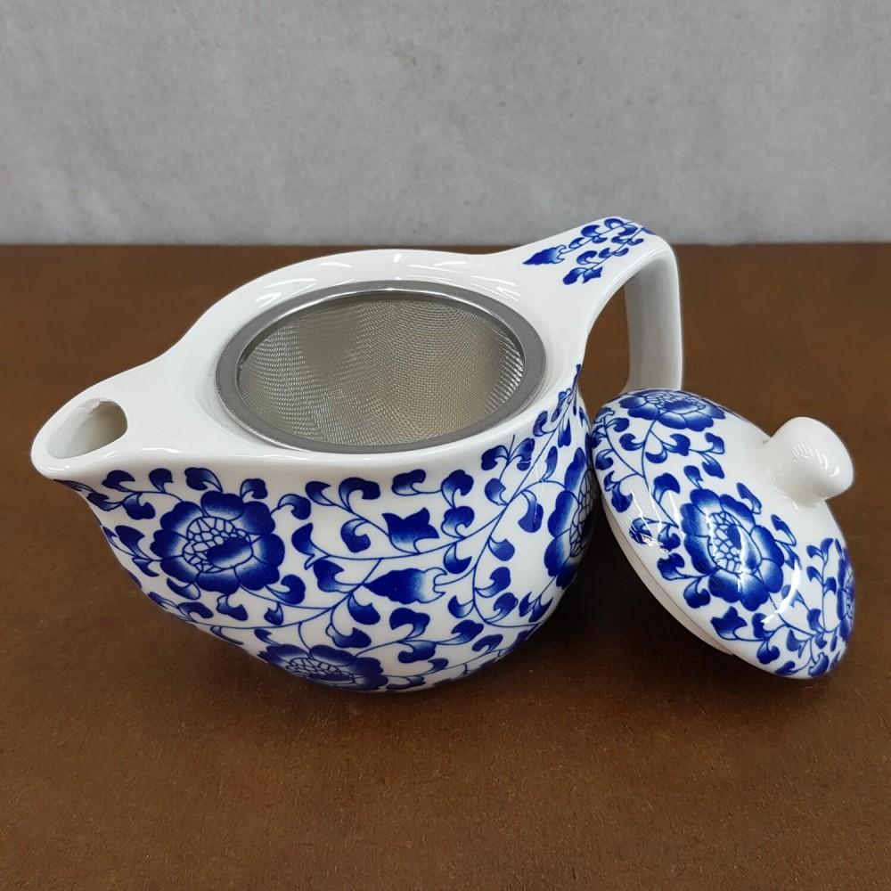 Bule de Chá - azul navy - Foto 2