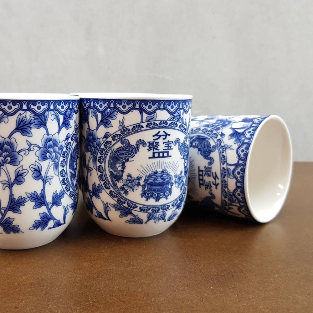 Conjunto de Chá - azul royal - Foto 3