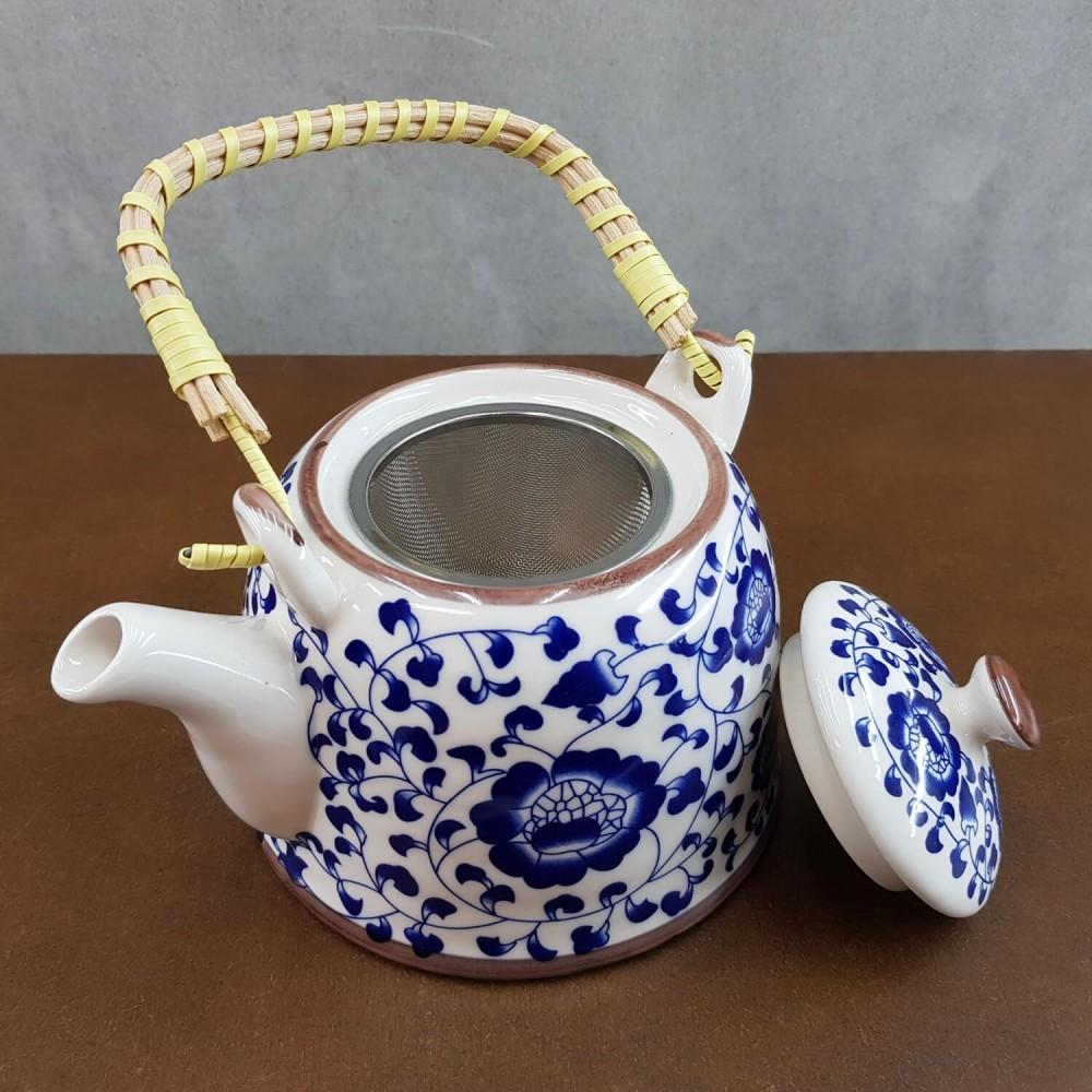 Conjunto de chá - azul índigo  - Foto 2