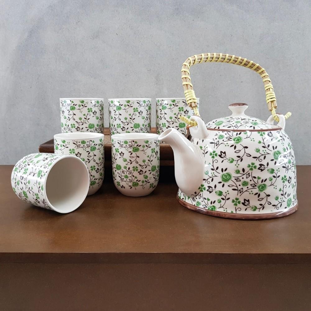 Conjunto de Chá - verde - Foto 1