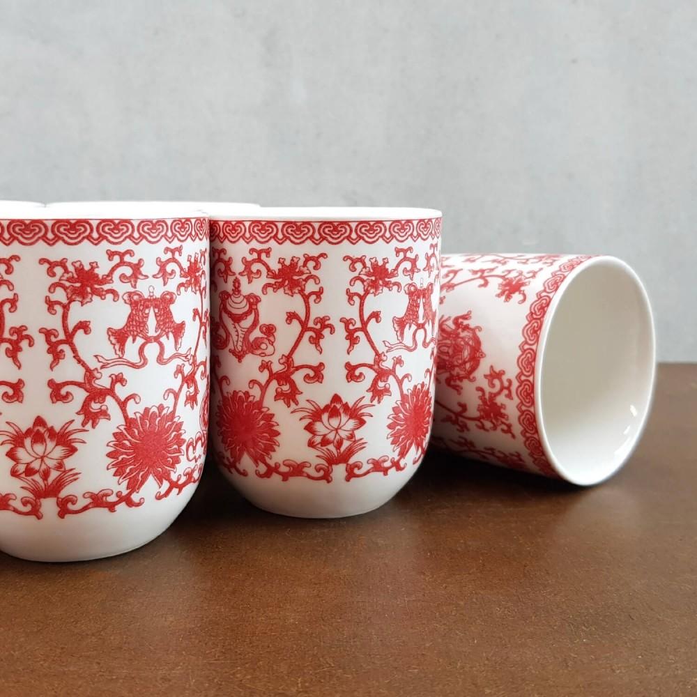 Conjunto de Chá - vermelho - Foto 3