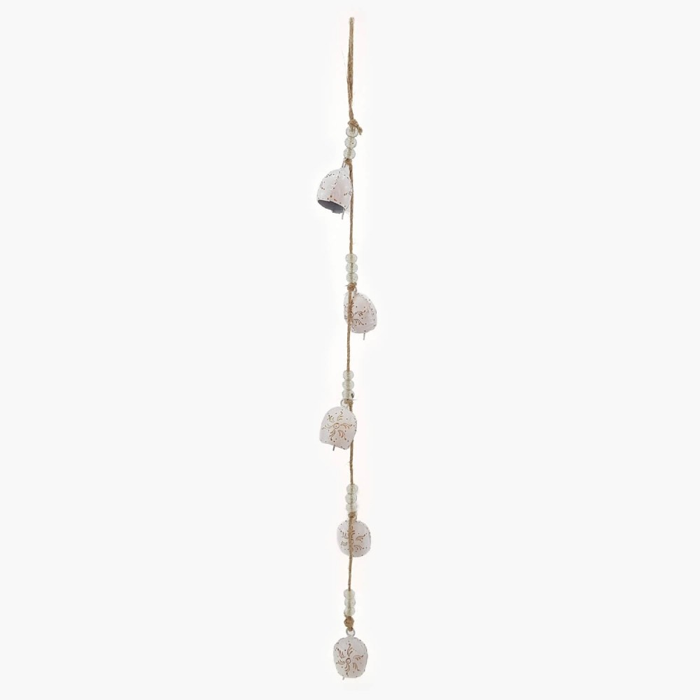 Móbile c/ sinos brancos - 75cm - Foto 2