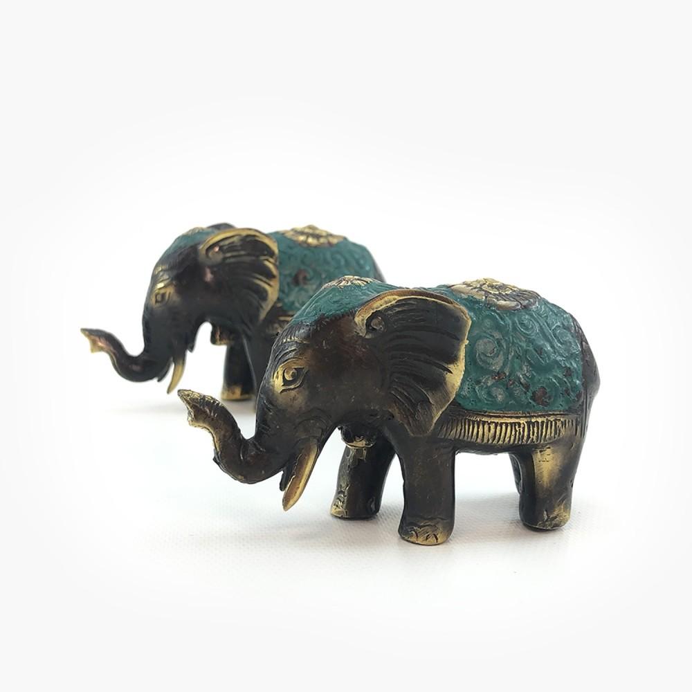 Elefante Turquesa - Foto 1