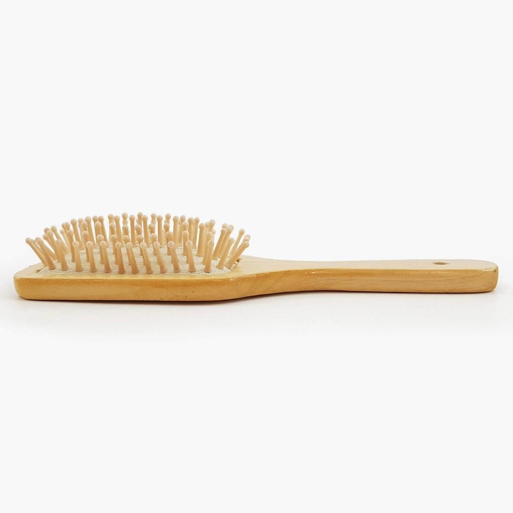 Escova de Cabelo Madeira - 23cm - Foto 3