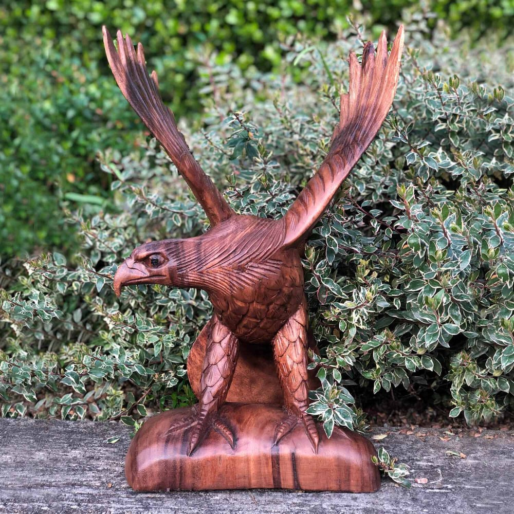 Escultura Águia 40cm - Foto 1